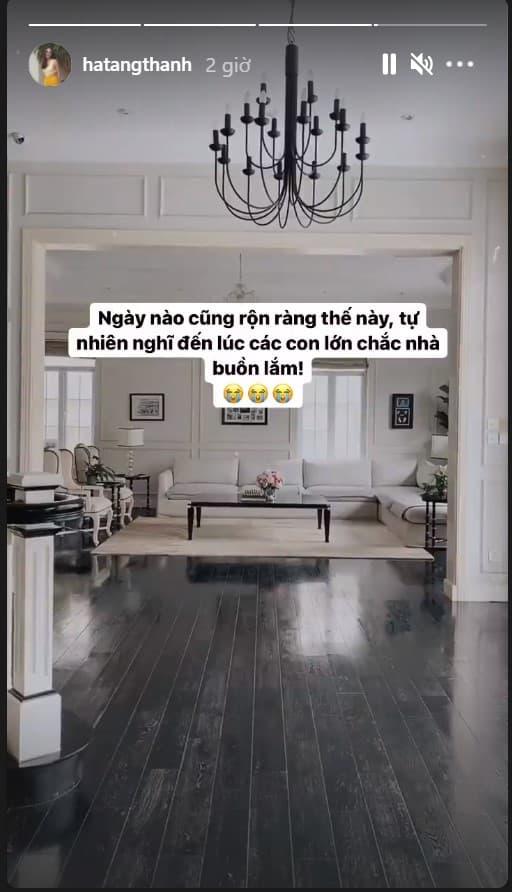 Tăng Thanh Hà, Hà Tăng, con của Tăng Thanh Hà