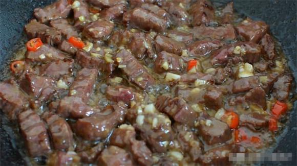 thịt bò, đậu bắp, món xào, dạy nấu ăn, mẹo nấu ăn