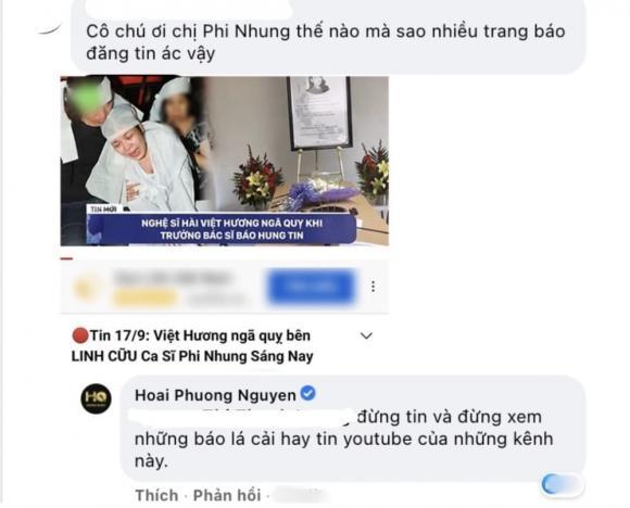 Việt Hương, Sao Việt, Phi Nhung, Nhạc sĩ Hoài Phương
