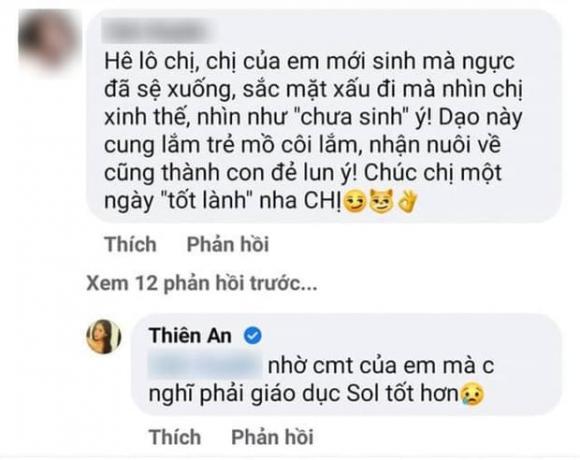 Thiên An, Sao Việt, Jack, Con gái, Bé Sol