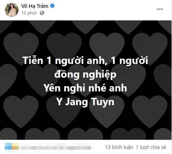 Ca sĩ Y Jang Tuyn, Phi Phụng, Võ Hạ Trâm, Ốc Thanh Vân, sao việt, qua đời vì covid-19
