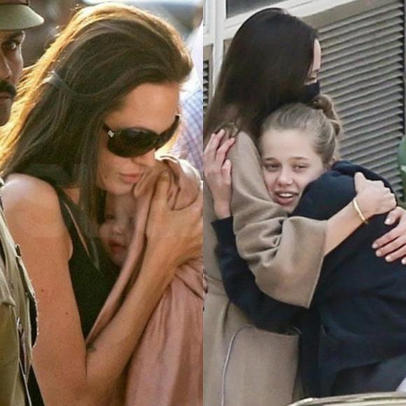 ,Shiloh, con gái của angelina jolie, chuyển giới, sao hollywood