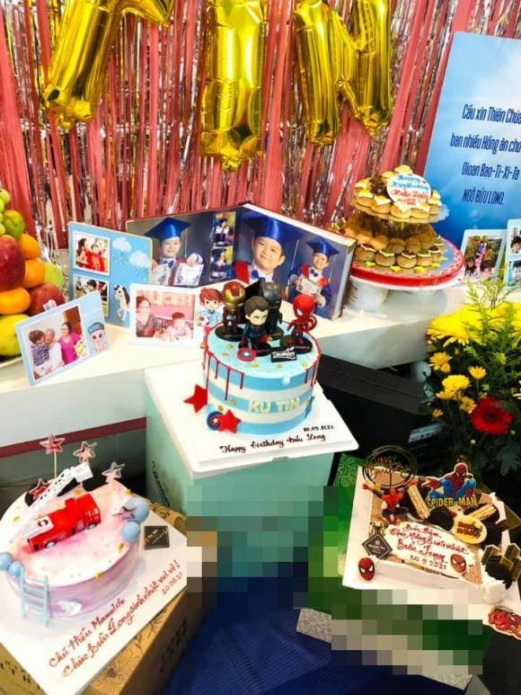 Nhật Kim Anh, Sao Việt, Sinh nhật con trai