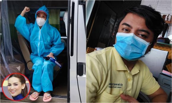 Phi Nhung, Sao Việt, Trizzie Phương Trinh, nhiễm Covid-19