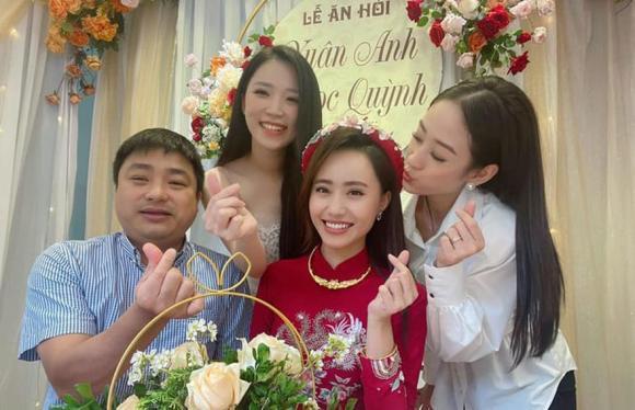MC Xuân Anh VTV, đám hỏi của MC Xuân Anh, sao Việt