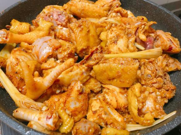 bún cà ri gà, công thức làm bún cà ri gà, món ngon từ gà
