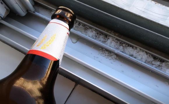 vệ sinh bệ cửa sổ, vệ sinh, làm sạch, mẹo hay, bia