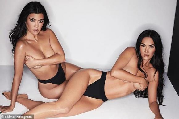 kim kardashian, kourtney kardashian, megan fox