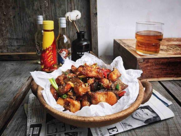 cá chiên tỏi ớt, dạy nấu ăn, món ngon