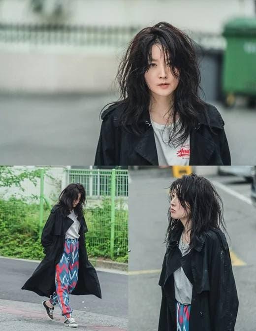 lee young ae, đầu bù tóc rối, phim hàn