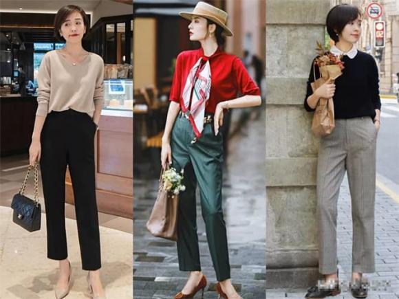 thời trang tuổi trung niên, tuổi niên, thời trang thu, phụ nữ sau 40
