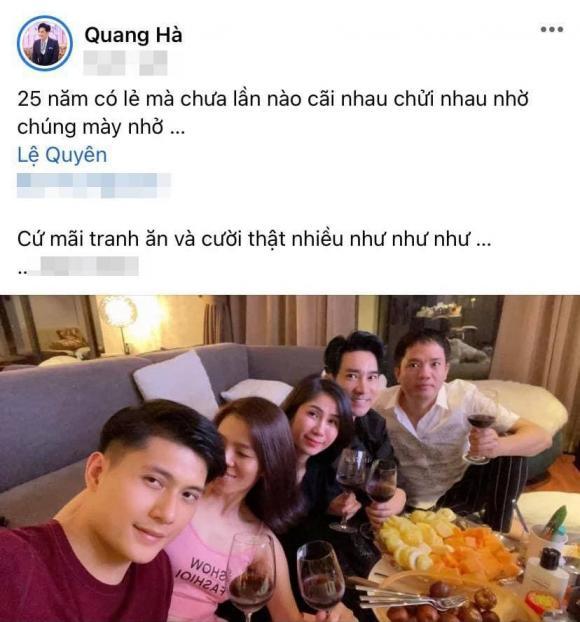 Lệ Quyên, Lâm Bảo Châu, Sao Việt, Quang Hà