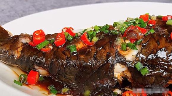 cá trắm cỏ, nấu cá, nấu cá bằng nồi cơm điện, dạy nấu ăn, mẹo nấu ăn