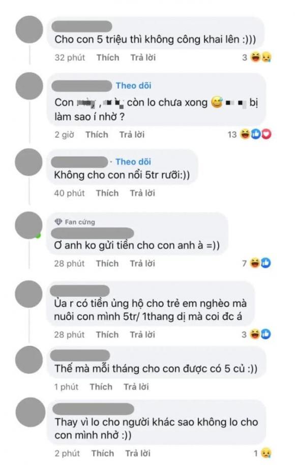 ca sĩ Jack, diễn viên Thiên An, sao Việt,  Running Man Việt nam mùa 2, chu cấp cho con
