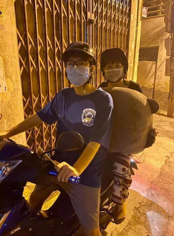 MC Thảo Vân và con trai, MC Thảo Vân, NSƯT Công Lý, sao Việt