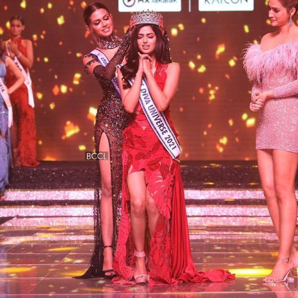 Nữ diễn viên xinh đẹp đăng quang Hoa hậu Hoàn vũ Ấn Độ 2021