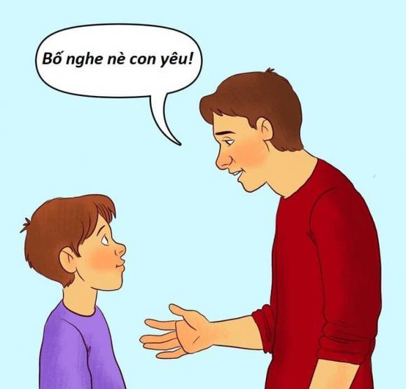 chăm con, dạy con, trẻ hỗn, trẻ cãi lại, chăm sóc con, cãi láo