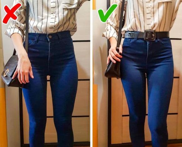 quần jean, sai lầm khi mặc quần jean, thời trang