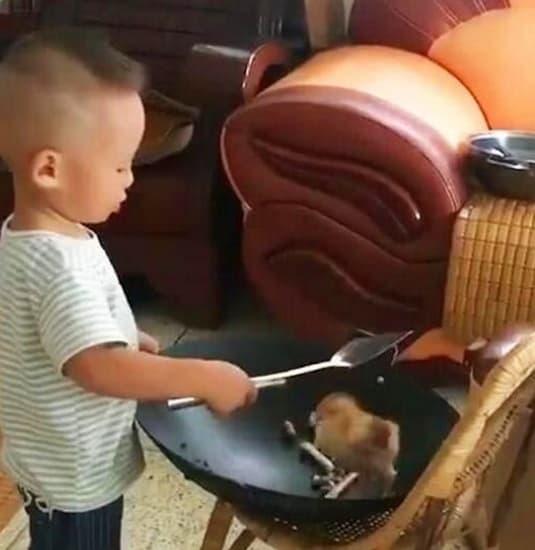 hành động của cậu con trai 3 tuổi, câu chuyện cuộc sống, cuộc sống quanh ta