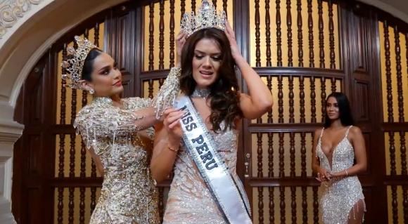 Tân Miss Peru 2021 gây sốt khi có 2 chị gái ruột đều là hoa hậu