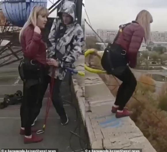 trò chơi mạo hiểm, thiệt mạng khi nhảy bungee, nhảy bungee