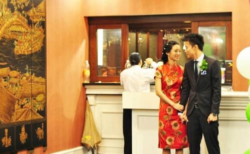 phong tục cưới xin, cô dâu chú rể, đám cưới trung quốc