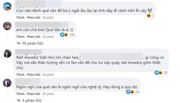 Quế Vân, Hoa hậu Phương Lê, sao Việt