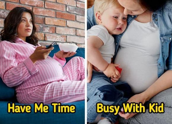 sinh con thứ hai, khác biệt khi sinh con thứ hai, chăm con