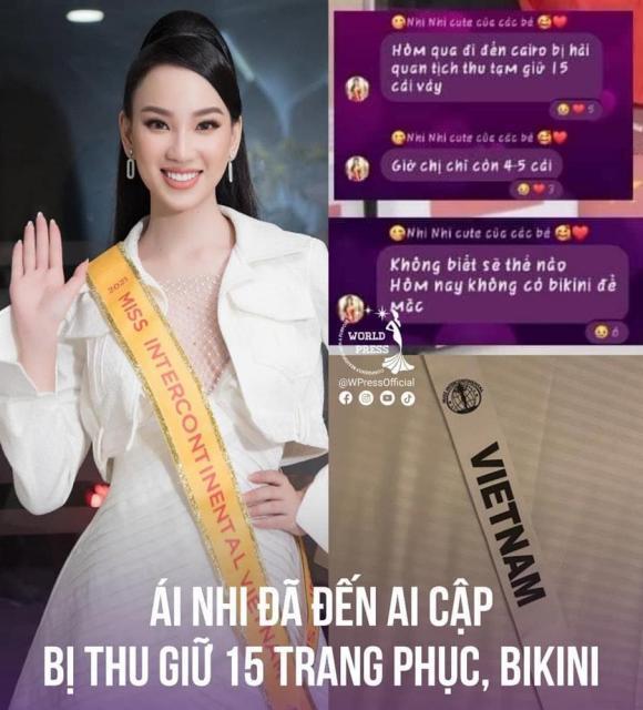 Đại diện Việt Nam tại Hoa hậu Liên lục địa 2021 bị thu giữ hành lý vì nghi buôn lậu, chịu phạt gần 100 triệu?
