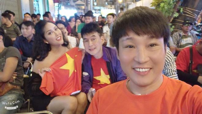 sao Việt ăn mừng Việt Nam đạt huy chương vàng 5