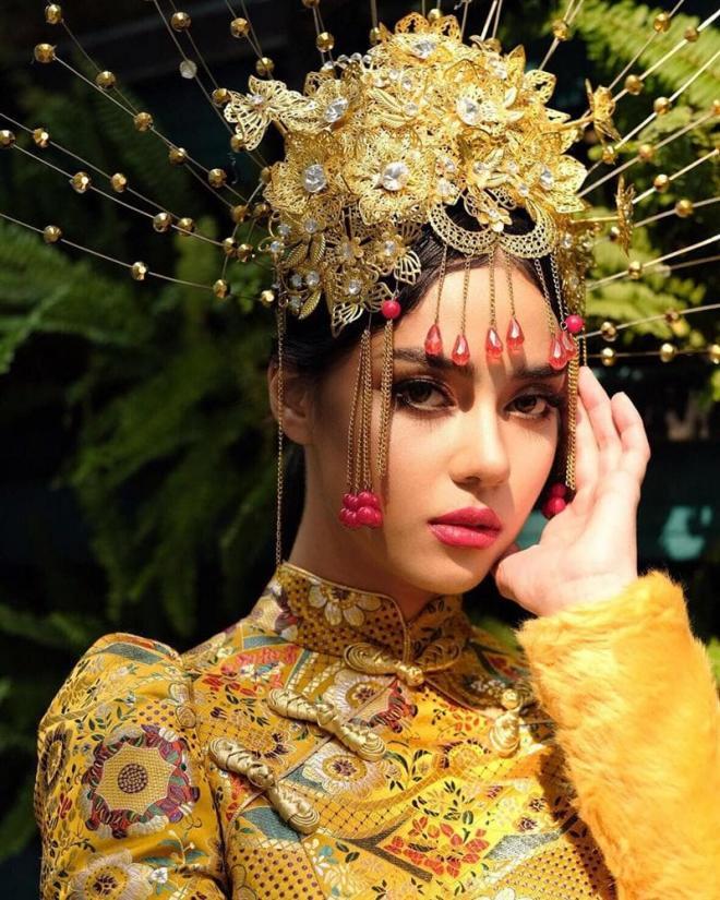 Hoa hậu Hoàn vũ Thái Lan 2020 3