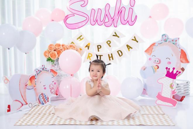 sinh nhật con gái Bùi Tiến Dũng 2