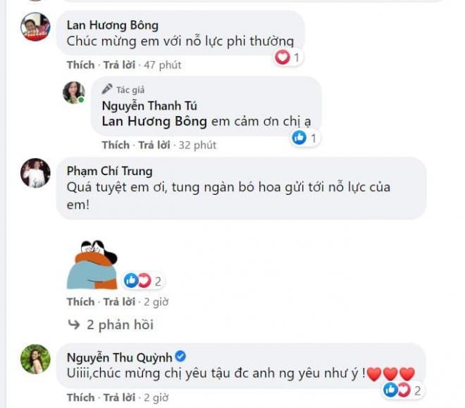 diễn viên Thanh Tú cháo lòng 0