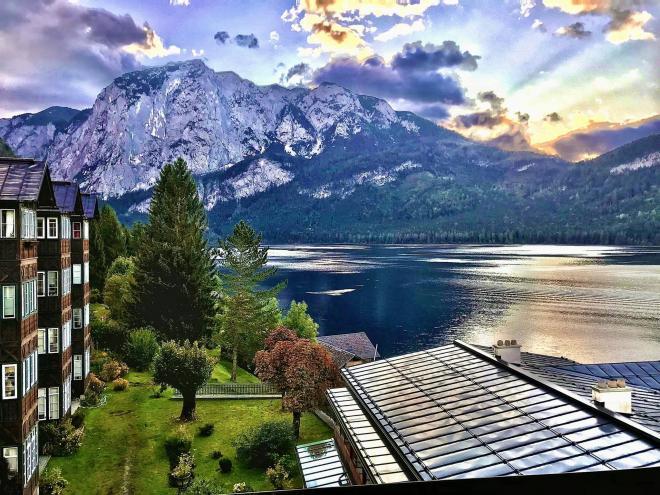 Đan Lê du lịch Áo 3