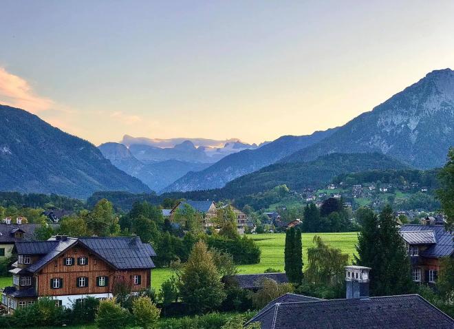 Đan Lê du lịch Áo 1