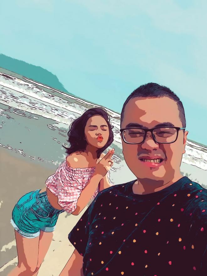 Thu Quỳnh và bạn trai 2