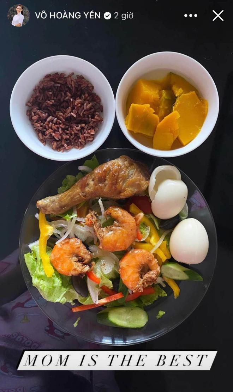 thực đơn ăn uống của Võ Hoàng Yến 5