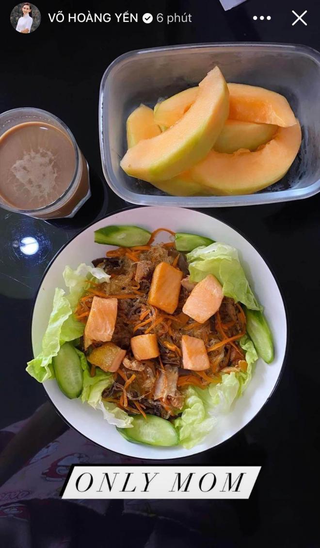thực đơn ăn uống của Võ Hoàng Yến 6