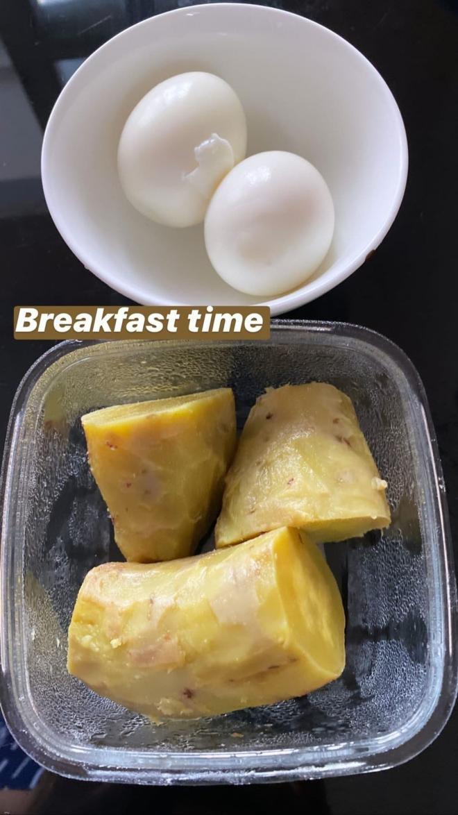 thực đơn ăn uống của Võ Hoàng Yến 7