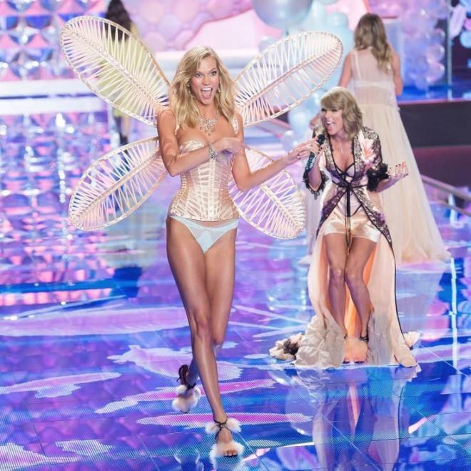 Từng 'chị chị em em' thân thiết, Taylor Swift bị nghi viết bài hát đá xoáy 'Thiên thần nội y' Karlie Kloss 10