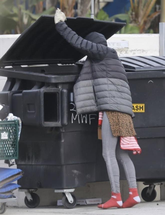 Vợ cũ của sao Hollywood trở thành người vô gia cư, phải bới thùng rác kiếm sống trong khi nam tài tử từ chối giúp đỡ 2