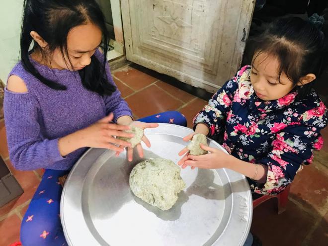cách làm bánh rau khúc 1