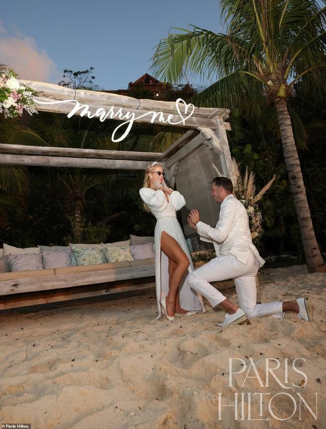 Sinh nhật tuổi 40, 'tiểu thư Hollywood' Paris Hilton được cầu hôn bằng nhẫn kim cương khổng lồ 2