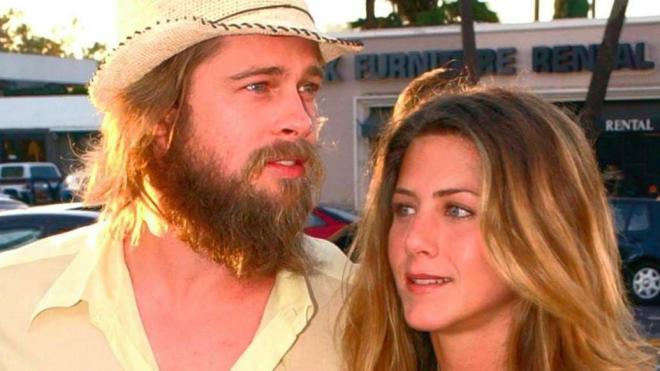 Jennifer Aniston và Brad Pitt 9