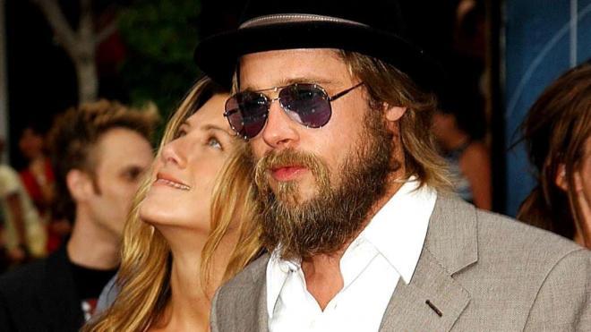 Jennifer Aniston và Brad Pitt 8