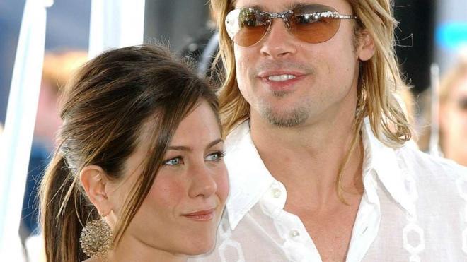 Jennifer Aniston và Brad Pitt 6