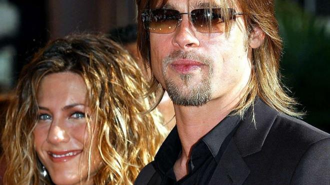 Jennifer Aniston và Brad Pitt 5