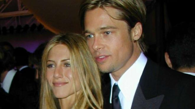 Jennifer Aniston và Brad Pitt 1