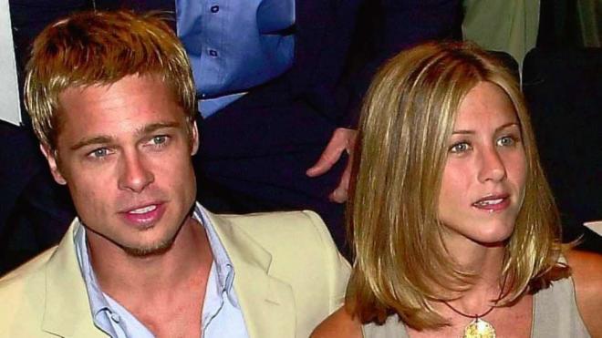 Jennifer Aniston và Brad Pitt 15