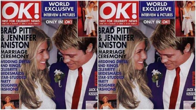 Jennifer Aniston và Brad Pitt 14